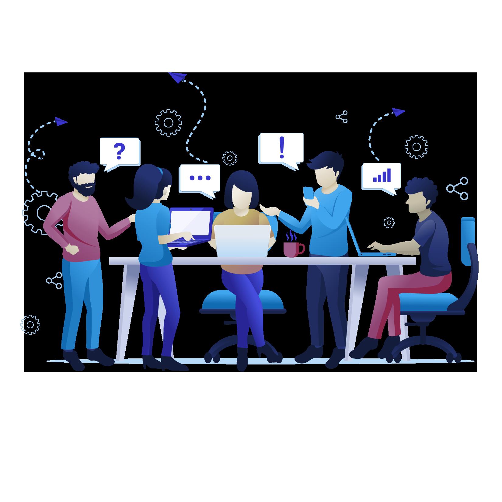 Zusammenarbeit und Collaboration von Dymacon